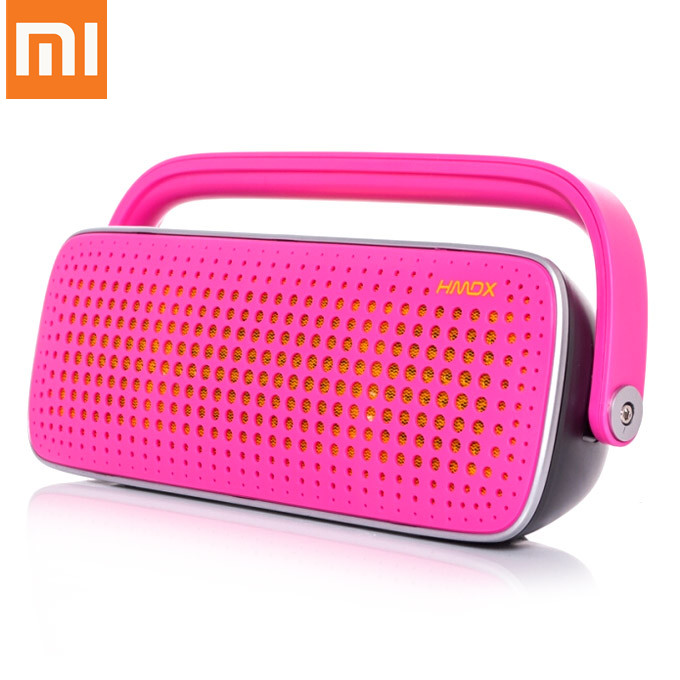 XIAOMI Jam Blast Wireless Bluetooth Speaker Handsfree Surround Stereo Music Player with AV Interface - Pink фото