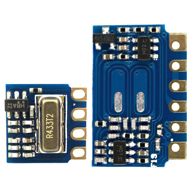 Mini 3.3V RF Transmitter Receiver Module 433MHz Wireless Link Kit for Arduino