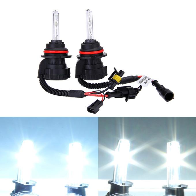 อุปกรณ์เสริม 6000K 9004 / 9007 3W 55V ชุดไฟ Xenon HID ชุดไฟหน้าแบบซีนอน