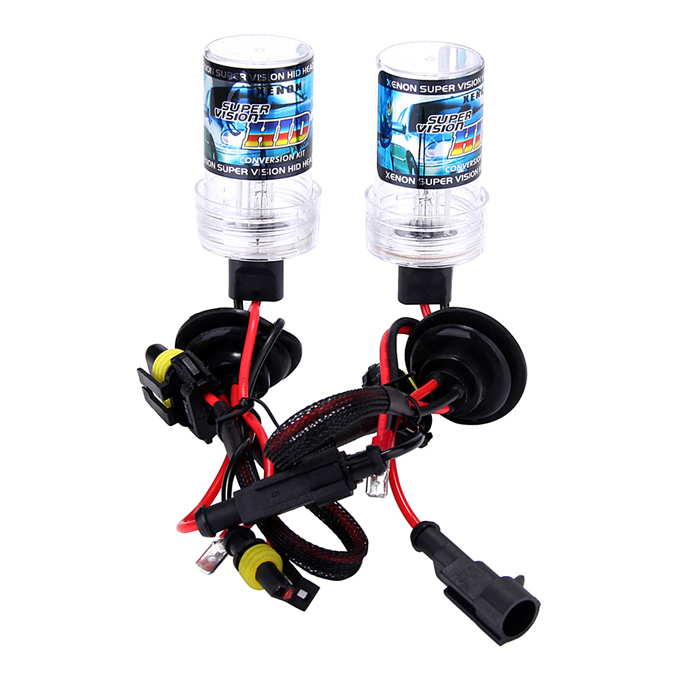 Makibes 10000K H1 DC250 55W 12V Xenon HID Kit Car Headlight Xenon Bulb Slim Ballast - Black + Silver