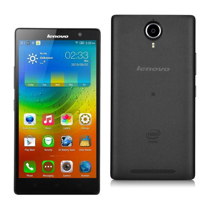 LENOVO K80M 5.5inch FHD 4G LTE Smartphone 4GB RAM 64GB ROM Android 4.4 Intel Moorefield Z3560 64bit Quad Core 1.8GHz NFC - Black
