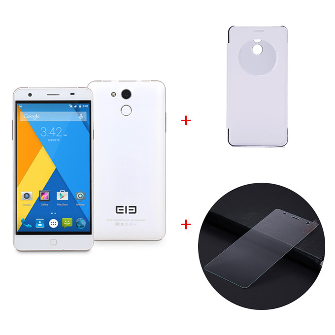 Elephone P7000 64bit 4G LTE 5.5inch FHD Android 5.0 3GB RAM MTK6752 Octa Core 1.7GHz Smartphone 13.0MP Dual Camera - White