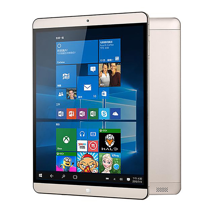 "Onda V919 Air CH Dual OS Windows10 + Android 5.1 4GB/64GB 9.7"" Tablet PC Intel Cherry Trail Z8300 Quad Core 1.84GHz IPS 2048*1536 HDMI - Gold"