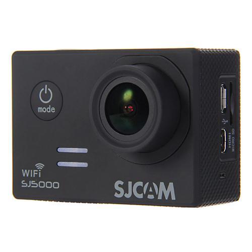 SJCAM SJ5000 WiFi Sports Camera Novatek 96655 14MP 1080P 170 Degree Lens 2.0inch HD Camcorder Car DVR - Black
