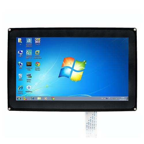 10.1 inch Capacitive Touch Screen LCD 1024x600 HDMI with Bicolor Case for Raspberry Pi/BB BLACK/PC Systems