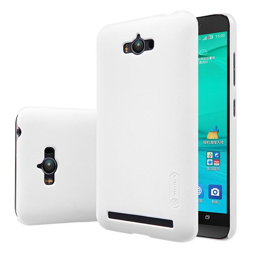 NILLKIN For Asus Zenfone Max Frosted Shield Phone Case Protective Back Cover - White