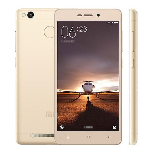 XIAOMI Redmi 3 Pro 5.0inch HD 4G LTE 3GB 32GB Smartphone Qualcomm Snapdragon 616 Octa Core 1.5 GHz Android 5.1 13.0MP Touch ID Fast Charge  4100mAh - Gold