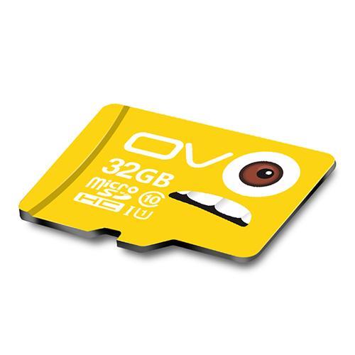 OV 32GB Micro SD-kort Minneskort Class10 Mobiltelefon Minneskort - Gul