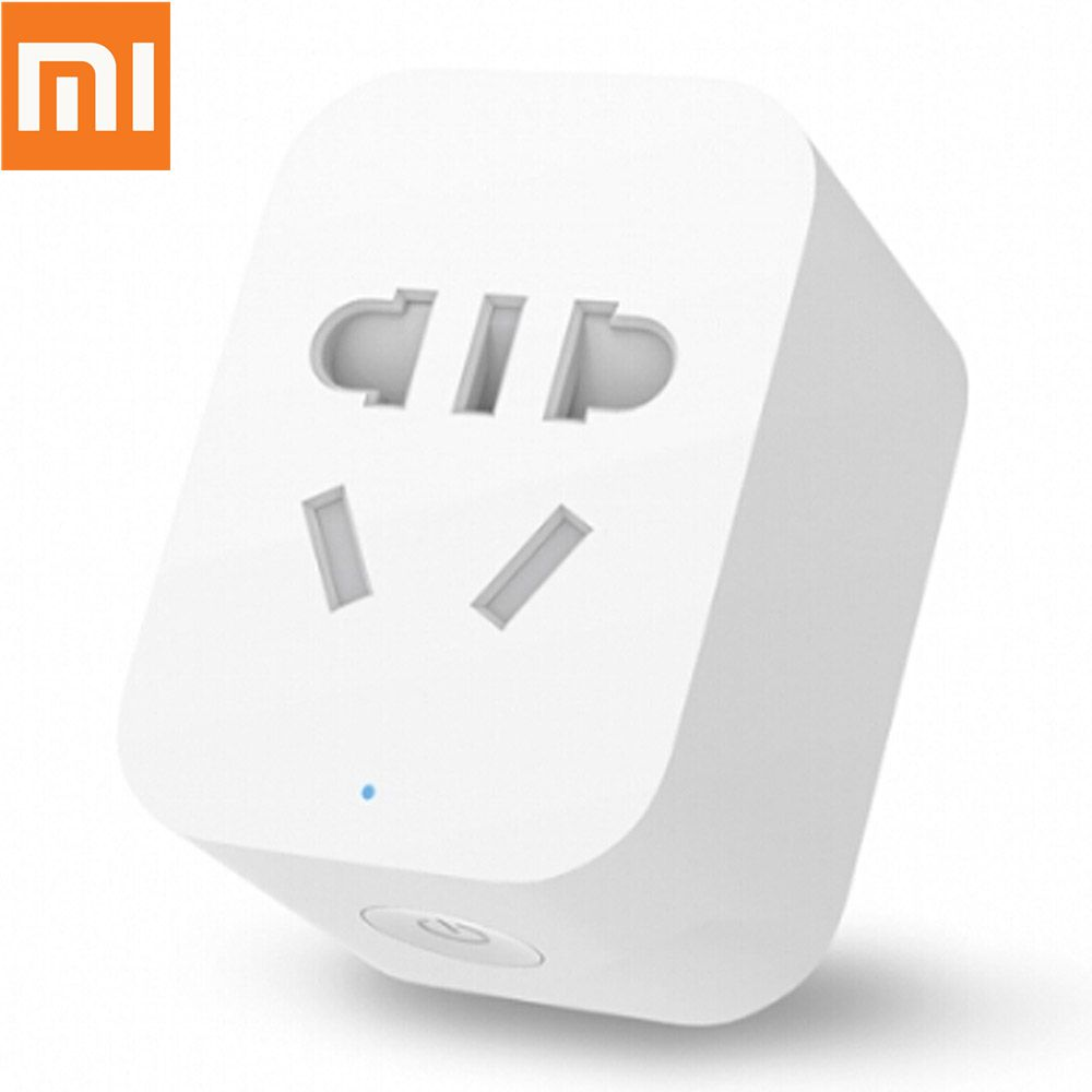 Original Xiaomi Mi Smart WiFi Socket (ZigBee Edition) APP Remote Control Timing Plug for TV Lamp Electrical Appliances - White