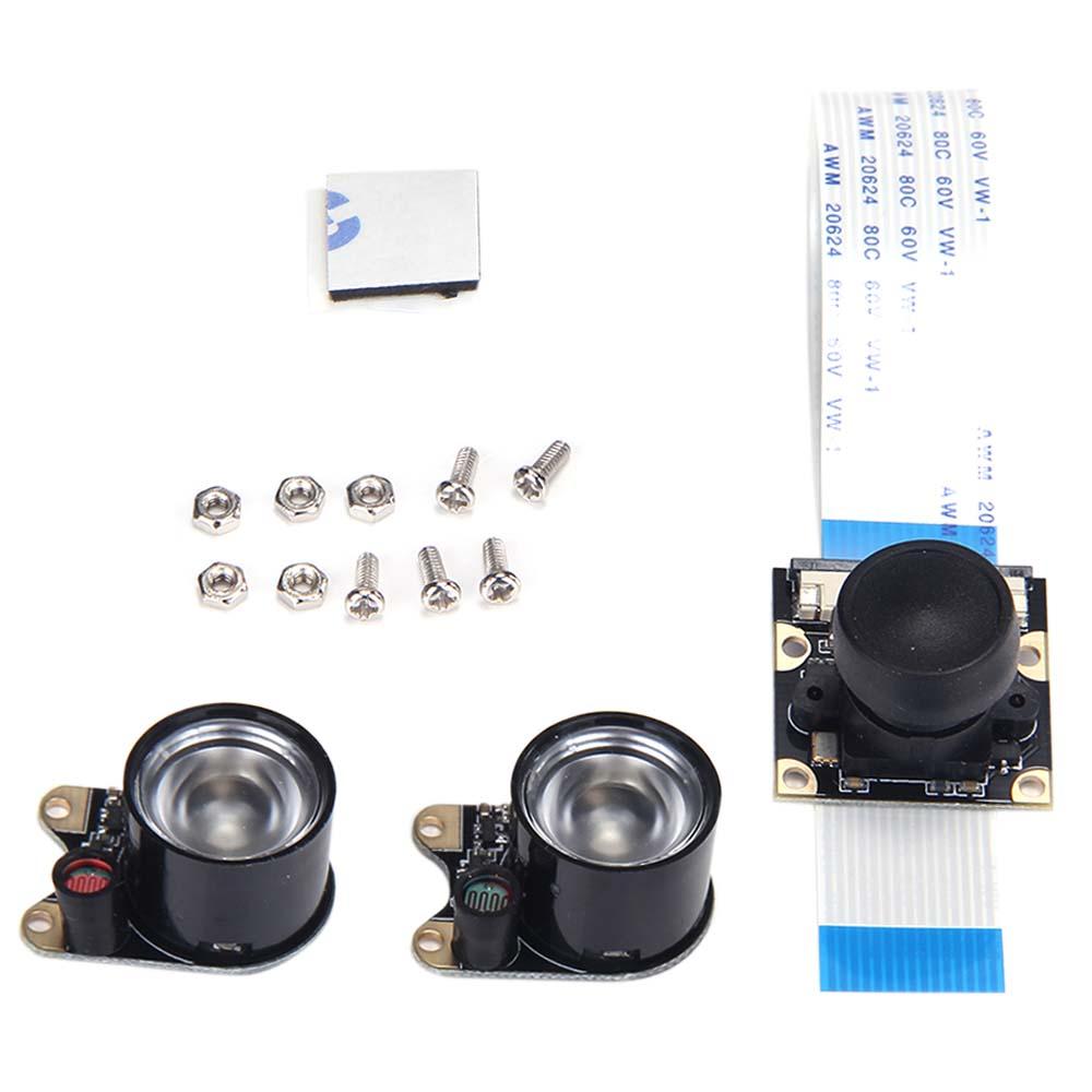 Raspberry Pi 5MP Camera Module Fisheye Lens FOV160 Supports Night Vision for Raspberry Pi