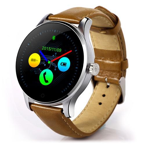 Купить со скидкой (Asia) Makibes K88H Bluetooth 4.0 Smartwatch MTK2502 Heart Rate Monitor Siri Function Gesture Contro