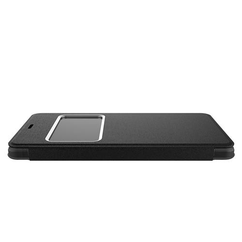 Original Protective Leather Case For UHANS S1 Smartphone Flip Cover With Window Phone Shell - Black