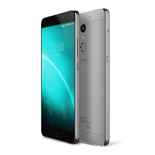 UMI Super 5.5inch FHD Android 6.0 MTK6755 Smartphone Octa core 2.0GHz 4GB RAM 32GB ROM 13.0MP Touch ID Type-C LED Notification 4000mAh Battery - Gray