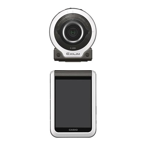"Casio EX-FR10 2.0"" LCD Separable Action Camera 14 MP 1/2.3inch CMOS Sensor 21mm Super Wide-angleF2.8 WiFi BT Sport Camera - White"