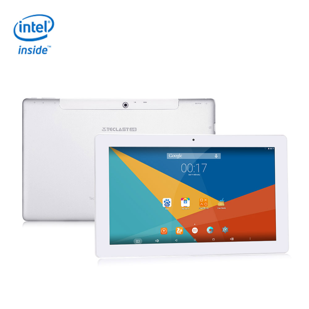 Teclast X16 Plus 10.6 inch Intel Cherry Trail Z8300 Android 5.1 2GB/32GB 2in1 Tablet PC Quad Core 1.84GHz IPS 1920*1080 - Silver