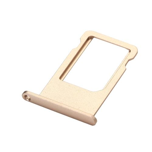 Smartphone Replacement Assembly Parts SIM Card Tray Holder Slot Repair Parts For iPhone 6 Plus - Gold