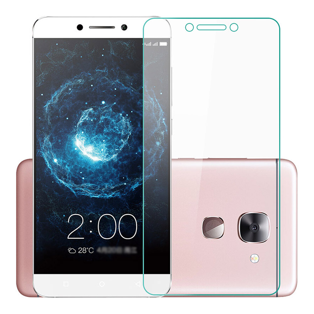 Makibes Tempered Glass 0.33mm Arc Edge Glass Film Screen Protector For LeTV LeEco Le Max 2 / Max 2 Pro - Transparent