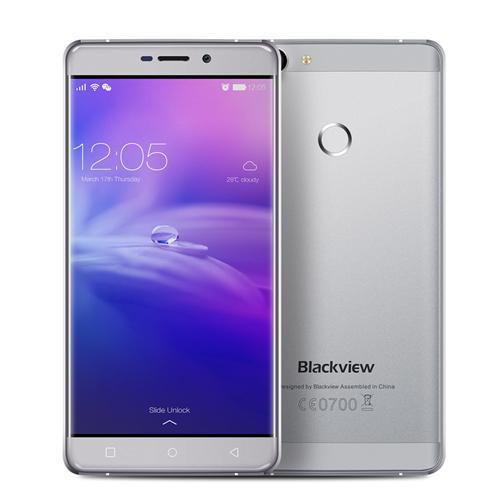 Blackview R7 5.5inch FHD 4G LTE Android 6.0 MTK6755 Smartphone Octa core 2.0GHz 4GB RAM 32GB ROM 8.0MP+13.0MP Touch ID NFC Fast Charge - Gray