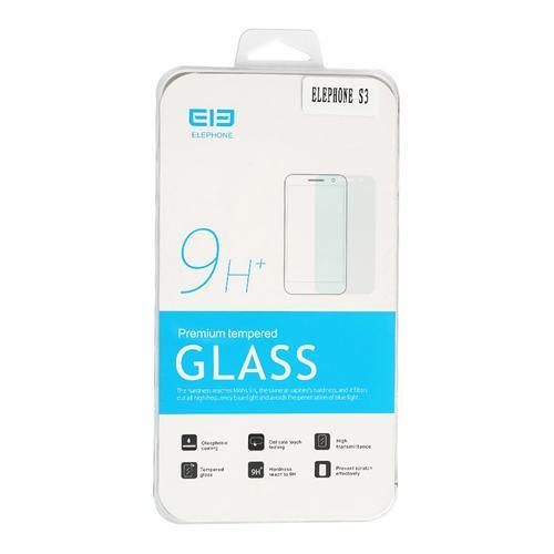 Eredeti prémium edzett üvegfólia védőfólia Elephone S3 okostelefonhoz - Átlátszó