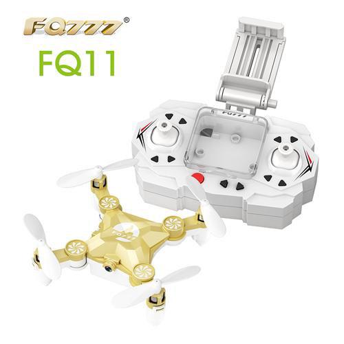 FQ777 FQ11 WIFI FQ11W FPV 0.3MP Fotocamera 3D Rotare una chiave per tornare a piatto pieghevole - Champagne