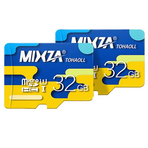 MIXZA TOHAOLL Class10 SDHC Micro SD External Memory Card TF Card Color Series for Phones Tablets - 32GB