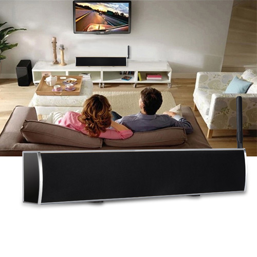 KS2 DVB-T2 Soundbar Hybrid Amlogic S905 Quad Core Android 5.1.1 Internet Smart Audio System 1GB 8GB WIFI Gigabit LAN