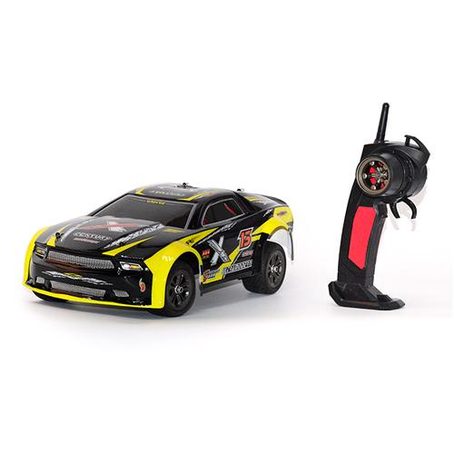9118 IPX4 Waterproof 1/12 2.4GHz 2WD Brushed Rally Car RTR - Yellow