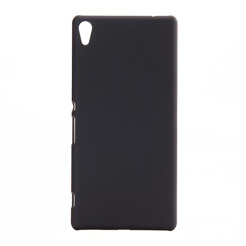 Back Case Ultra-thin Silky Smooth Protective Phone Cover Back Shell For Sony Xperia C6 Smartphone - Black фото