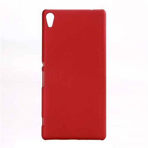 Back Case Ultra-thin Silky Smooth Protective Phone Cover Back Shell For Sony Xperia C6 Smartphone - Red фото