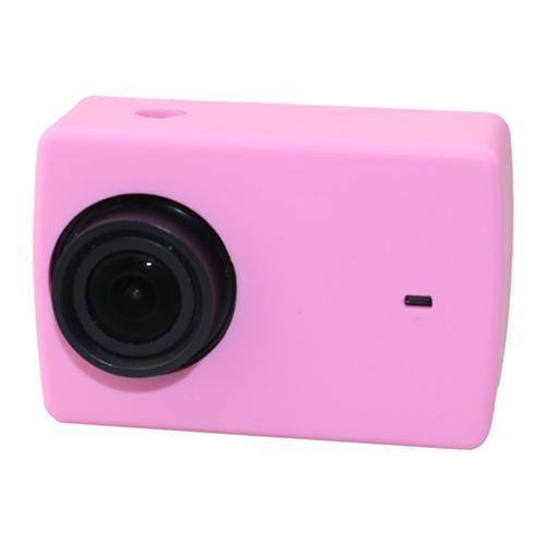 Yi 4K Action Caméra Soft Housse de protection en silicone pour Xiaoyi YI 4K + / YI 4K - Rose