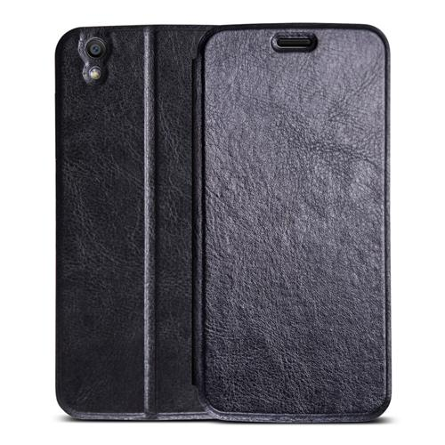 Original Leather Case Smart Flip Cover Protective Standing Phone Holder Case For UMI LONDON Smartphone - Black фото