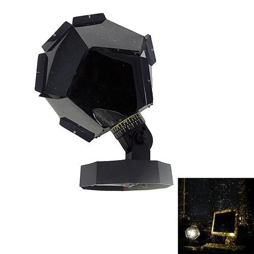 Celestial Star Projector Lamp Night Light for Funny DIY Romantic Party Holidays - Yellow Light