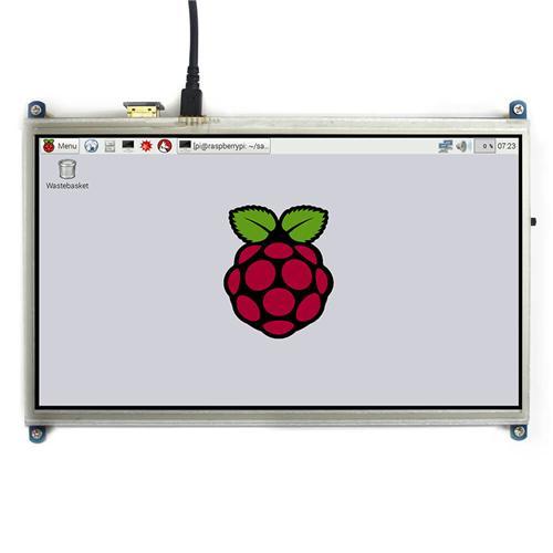 10.1 inch HDMI LCD Screen 1024*600 Pixels for Raspberry Pi / BB Black / Computer