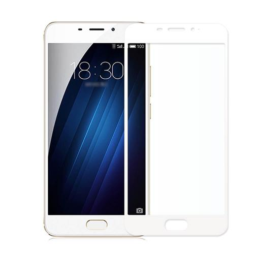 Makibes Tempered Glass 0.33mm Full Cover Glass Film Screen Protector For Meizu MEILAN E/Meizu M3E - White фото