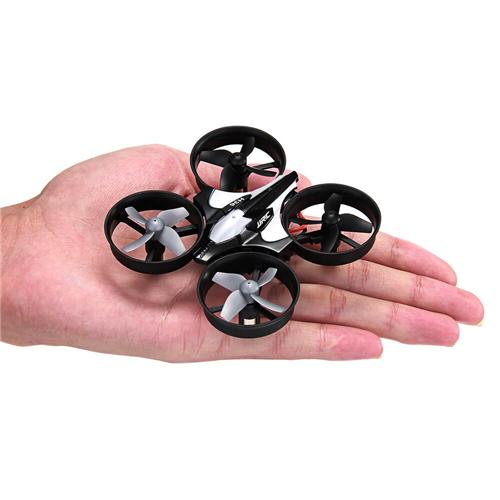 JJRC H36  2.4G 4CH 6Axis Gyro Headless Mode RC Quadcopter RTF - Dark Gray