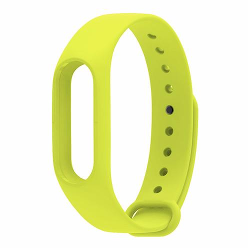 Xiaomi Mi Band 2 Replaceable Silicone Wrist Strap - Fluo Green