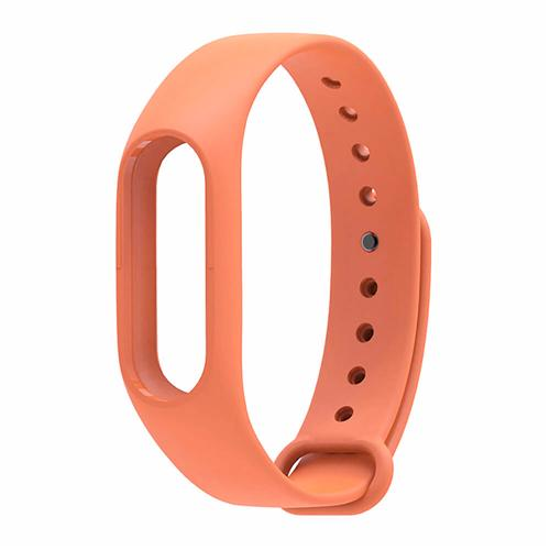 Xiaomi Mi Band 2 Replaceable Silicone Wrist Strap - Orange