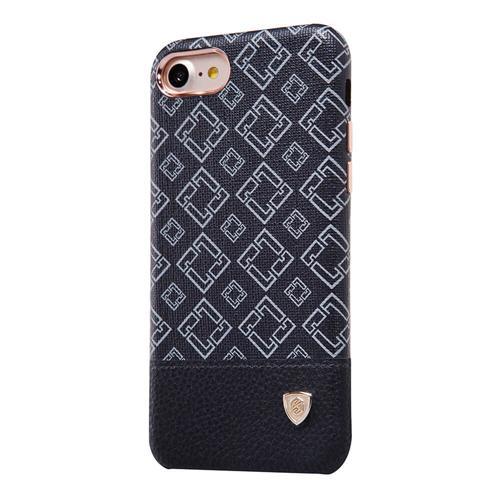 NILLKIN Custodia in pelle serie Oger Cover in plastica rigida adatta con supporto magnetico per iPhone 8 - Nero