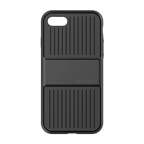 Baseus Travel Case TPU+PC Back Cover Drop-resistance Frame Case For iPhone 7 4.7 inches - Black фото