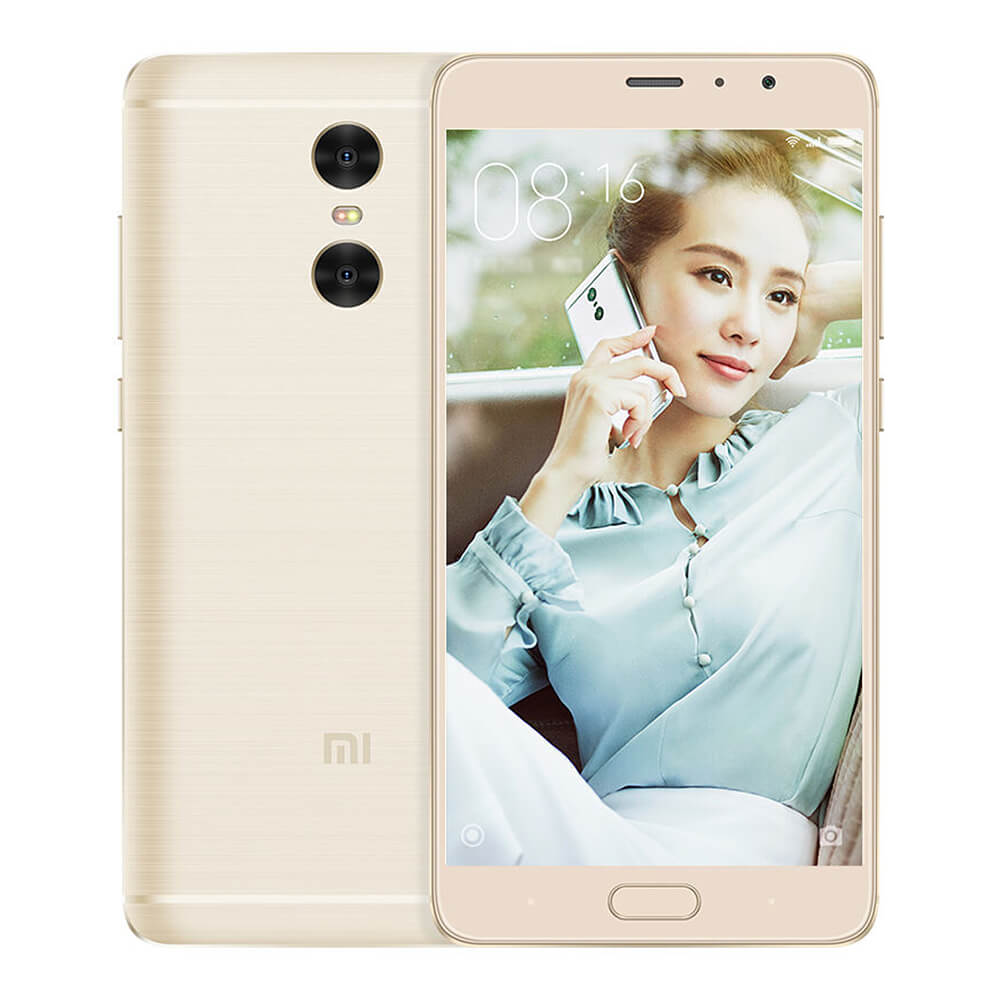 Xiaomi Redmi Pro 5.5inch OLED FHD Screen 4G VoLTE Android 6.0 Smartphone Helio X20 Deca Core 2.1GHz 3GB 32GB TOUCH ID Brushed Metal Body Type-C 4050 mAh - Gold