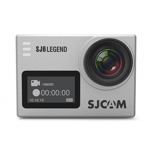 SJCAM SJ6 Legend WiFi Action Camera 2.0 Inch LCD Touch Screen 4K 16MP Sensor 166 Degree Wide Angle Len Gyro stabilization With Waterproof Case - Silver