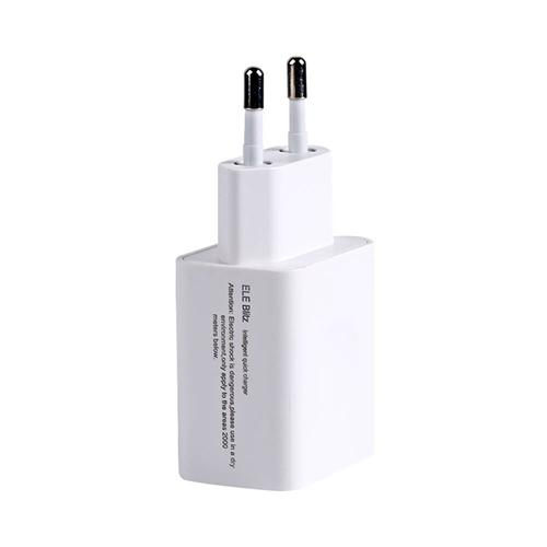 Original Elephone Blitz EU Plug Power Adapter Qualcomm Certification 3.0 Quick Charge Wall Charger - White