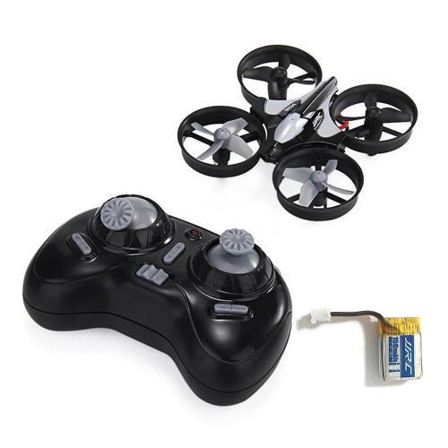 JJRC H36  2.4G 4CH 6Axis RC Quadcopter Dark RTF Gray + Extra 3.7V 150mAh Battery