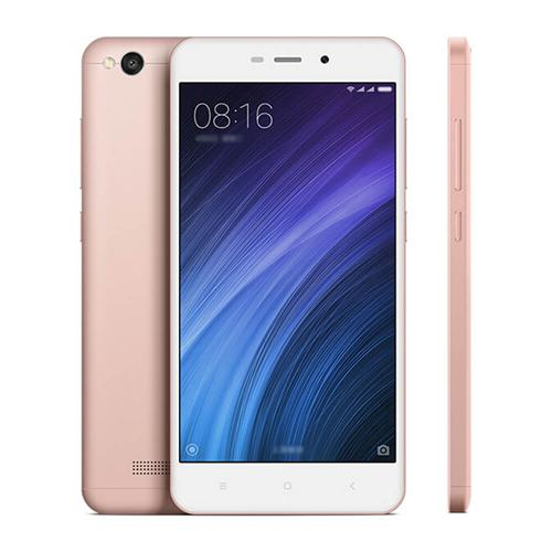 Xiaomi Redmi 4A 5.0inch HD MIUI 8 Android 6.0 4G LTE Smartphone Qualcomm Snapdragon 425 Quad Core 1.4GHz 2GB 16GB 5.0MP 13.0MP 3120mAh Battery WIFI GPS - Rose Gold