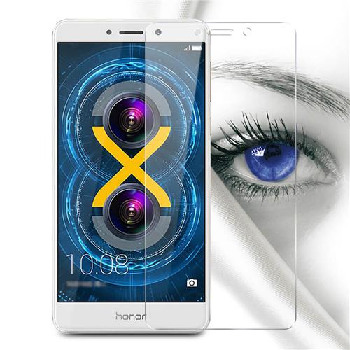 Makibes 0.33mm Arc Edge Tempered Glass Screen Protector Glass Film For HUAWEI Honor X6 - Transparent