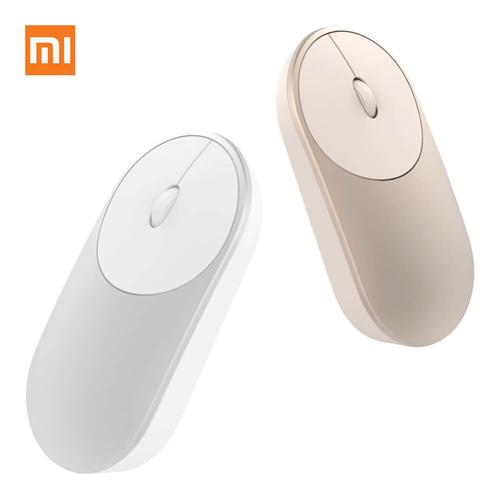 Xiaomi Portable Mouse Mi Mouse Bluetooth 4.0 / RF 2.4GHz Wireless Dual Modes Connection for PC Laptop - Silver