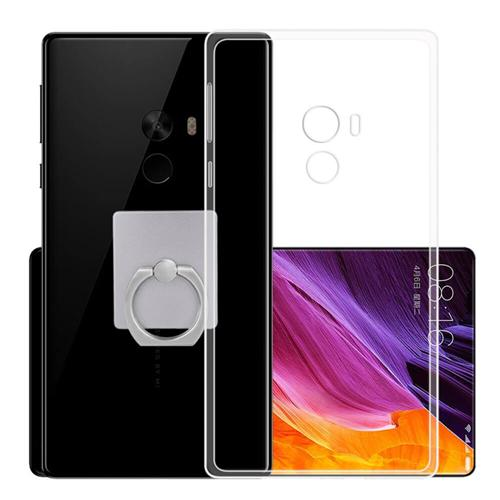 Silicone Couverture Arrière De Haute Qualité De Protection Étui Souple Téléphone Shell Pour Xiaomi Mi MIX - Transparent