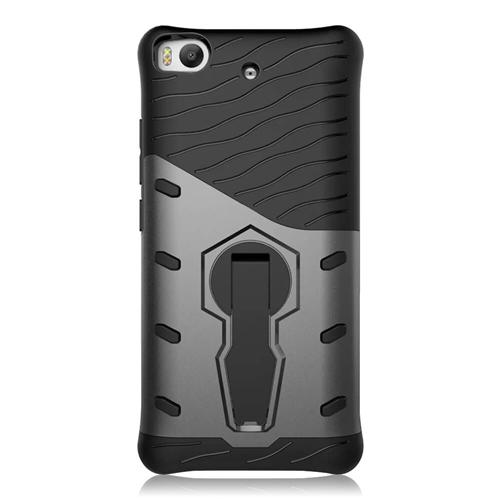 Armour Series Protective Phone Case 360 Degree Rotating Bracket Stand Cover For Xiaomi Mi 5S - Black Other
