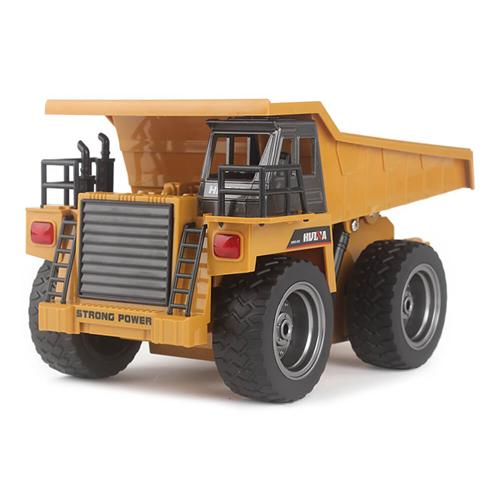 HuiNa Toys 1540 2.4G 6CH 1 / 18 RC Metal Dump Truck Ricarica Auto RC