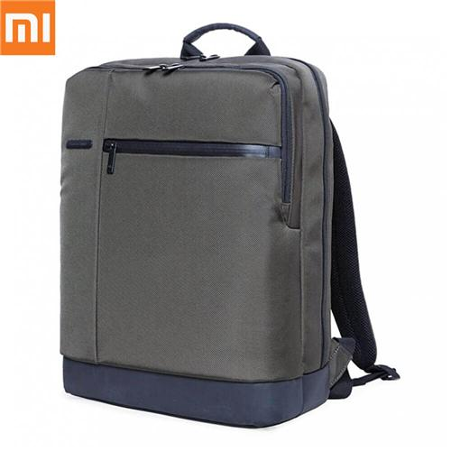 Originele Xiaomi Classic Business Style Polyester Leisure Backpack met 17L Capaciteit - Deep Green
